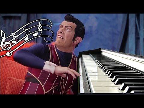 We Are Number One but every sound is piano