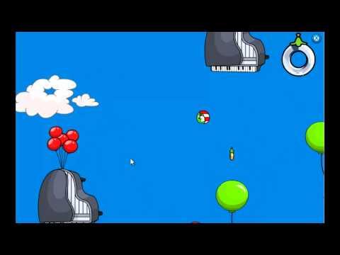 Club Penguin - Puffle Launch Blue Sky Level 8