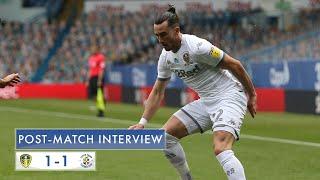 Post-match interview | Jack Harrison | Leeds United 1-1 Luton Town