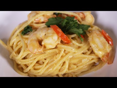 Salted Egg Yolk Pasta Recipe