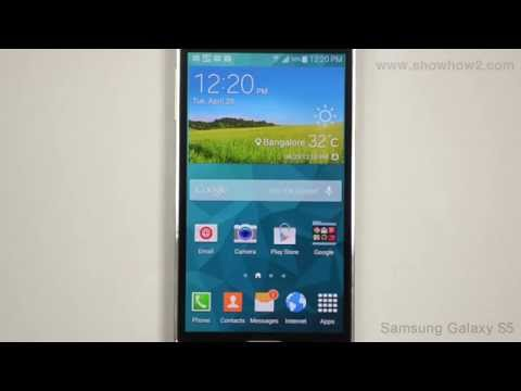 Samsung Galaxy S5- Voice Typing