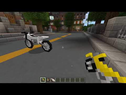 Minecraft City Life Spawn Vehicles