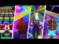 Evolution Of Rainbow Road In Mario Kart Games 1992 2017
