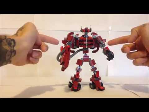 Lego Transformer #10 - SHOCKWAVE