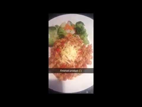 Spaghetti/pasta bolognese (corned beef sauce)