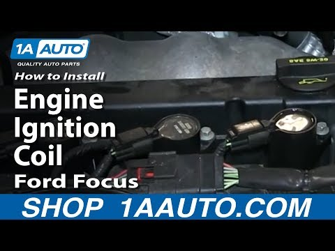 How To Install Replace Engine Ignition Coil 2003-11 Ford Focus