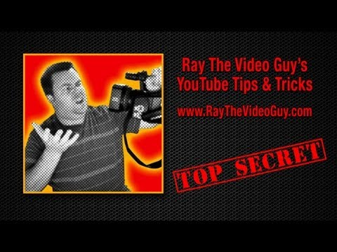 How to put links in YouTube Comments - Ray The Video Guy's YouTube Tips