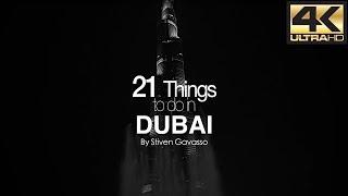 Top Things to do in DUBAI 4K