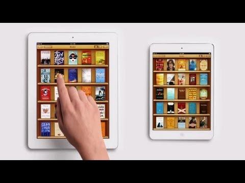 Apple iPad Mini TV Commercial (Books)