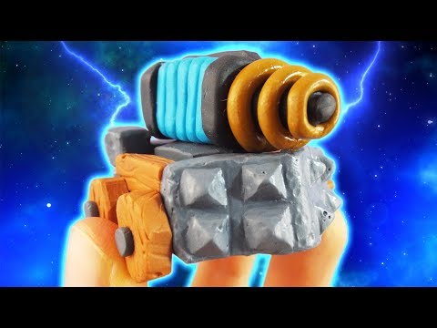 How to make Sparky (Clash Royale) - Polymer Clay Tutorial