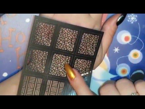 Ejiubas nail vinyls/stencil review