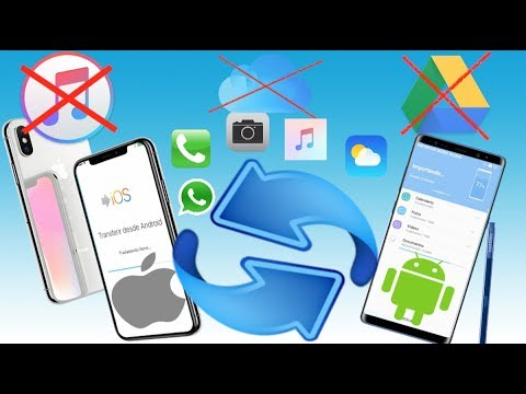 Como copiar todo desde iPhone a Android o desde Android a iPhone sin iTunes, sin Google Drive