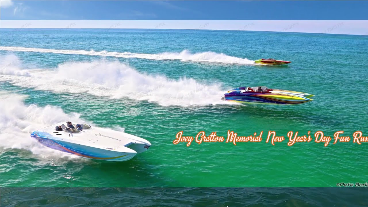 2021 Boating into the New Year at the Joey Gratton Memorial Fun Run