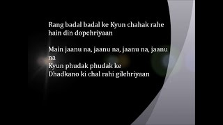 Gilehriyaan - Lyrical Video | Dangal | Aamir Khan | Pritam | Amitabh Bhattacharya | Jonita Gandhi