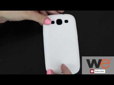Samsung Galaxy S3 Silicone Case - White