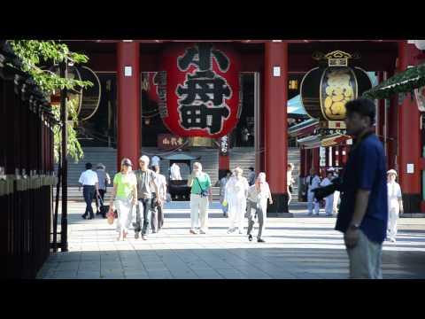 Walking in Tokyo : Asakusa | Sensoji Temple, Tokyo Skytree, Sumida River