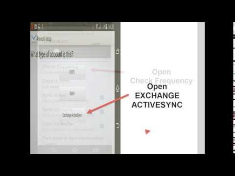 Sony Xperia Z3 Sync with Exchange fix