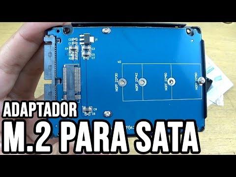 Adaptador de M.2 para SATA (Case SSD)