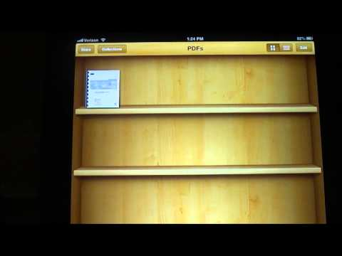 Tech Tip #18 iPad - How to save PDF's on your iPad