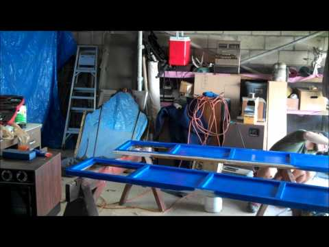 Type 40 Tardis Bedroom Doors Construction Time-Lapse Part 2