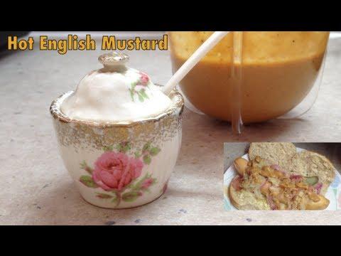 How to make Hot English Mustard cheekyricho