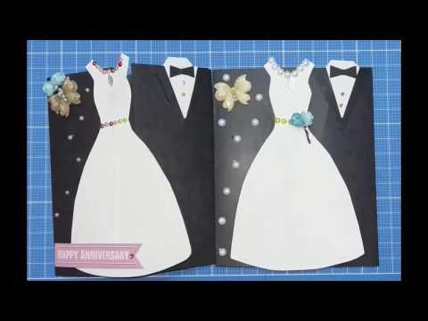 WEDDING ANNIVERSARY GREETING TUTORIAL/DIY