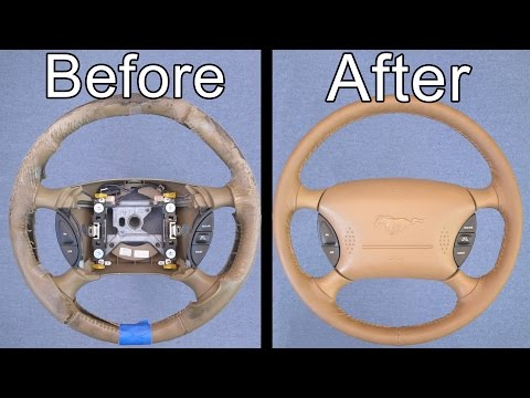 How To Restore Your Car's Steering Wheel (Looks Brand New!)