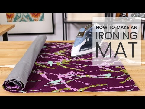 How to Make an Ironing Mat