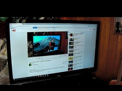 Intel Compute Stick: How I connect it to my Vizio TV