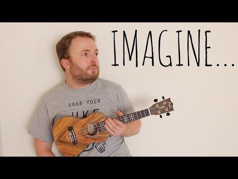 IMAGINE - JOHN LENNON (EASY UKULELE TUTORIAL!)