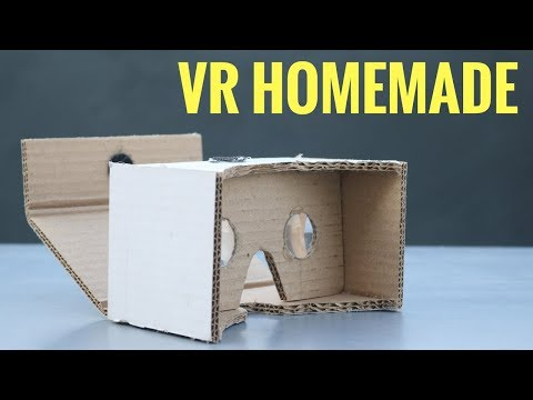 How to Make VR Headset at Home | VR Cardboard