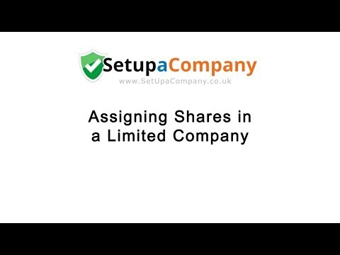 Assigning Shares in a Limited Company