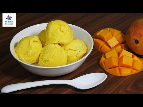Mango Ice-cream Recipe Is Very Easy To Make At Home | मैंगो आइसक्रीम- Iftar Recipes TV
