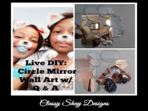 DIY: Q & A with Teonna and Circle Mirror Wall Art