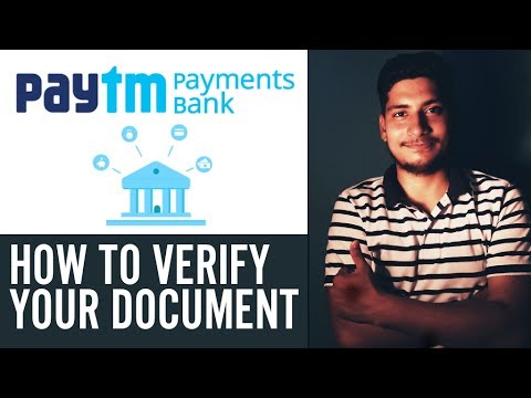 how to complete paytm bank verification# complete kyc