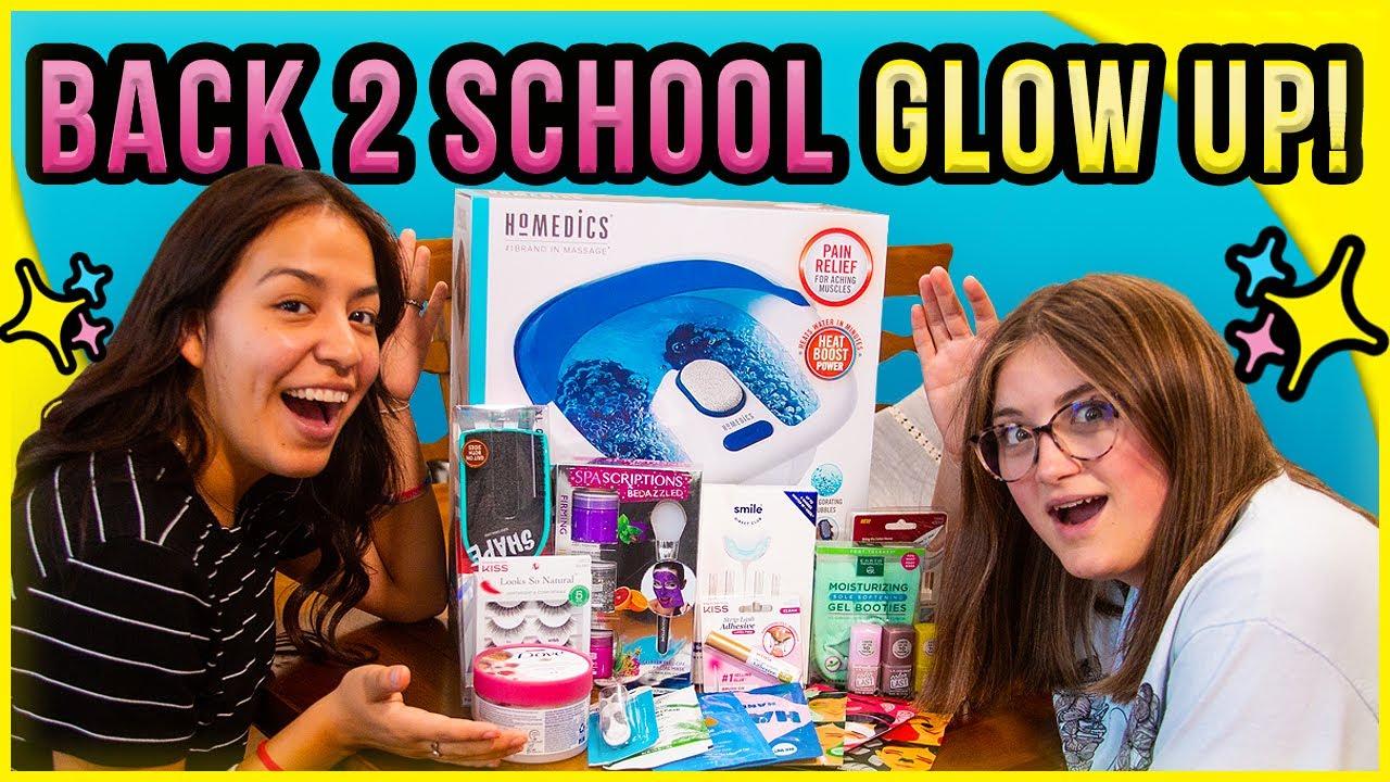 Teen Back To School GLOW UP | New Giveaway! | Backpack Winner!