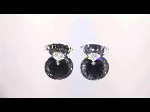 Cloudy Diamond Vs Non-Cloudy Diamond