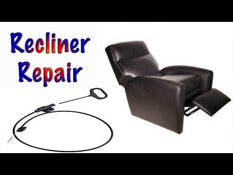 Repair a recliner - Fix Your reclining chair! - Fix your la-z-boy