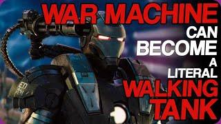 Wiki Weekdays | War Machine Can Become a Literal Walking Tank
