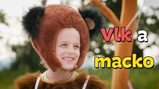 Smejko a Tanculienka - Vlk a macko (rozprávka)