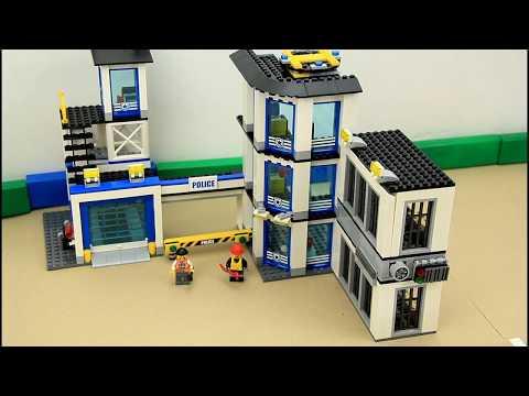 Build Police Station Kids Toy Video