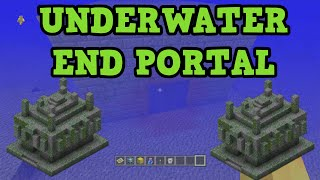 Minecraft Xbox 360 Ps3 Seed Underwater End Portal 3 Temples