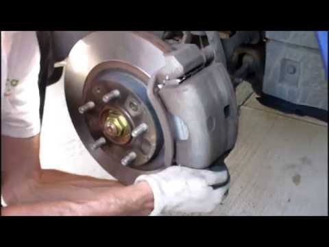 Mazda 6 how to replace Front/Back brakes