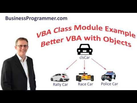 How To Create a Class Module in VBA