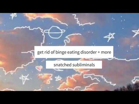 Get Rid of Binge Eating Disorder + More [REQUEST] | Subliminal |