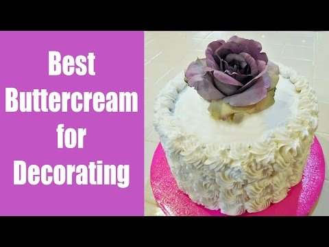 Best Buttercream Frosting for Decorating with Jill