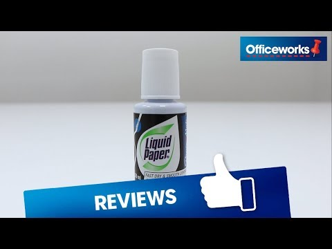 Liquid Paper Correction Fluid Overview