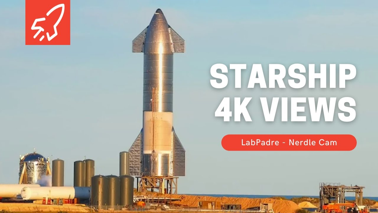Download Nerdle Cam 4K-  SpaceX Starship Launch Facility MP3 Gratis