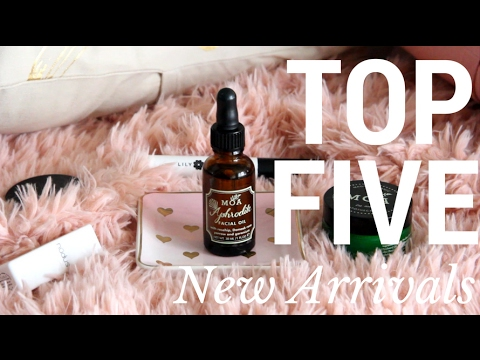 Top 5 New Arrivals // The Choosy Chick