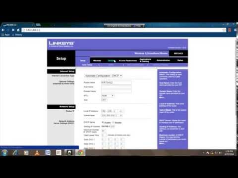 Change Linksys Wifi password In two Minutes